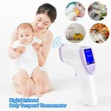 Non-contact body <b>thermometer</b> Forehead <b>Digital Infrared</b> ...