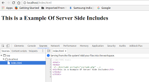 Server Side Includes putting php in html - Stack Overflow