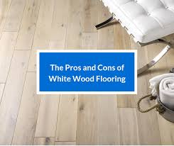 white wood flooring is it right for