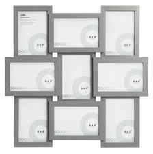9 wilko grey multi aperture photo picture frames