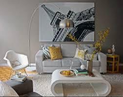 living room paris themed wall decor