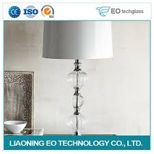 china clear glass lamp manufacturers and suppliers factory whole eo tech glass