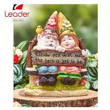 china polyresin garden gnome happy