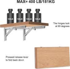 heavy duty folding shelf brackets 2pcs