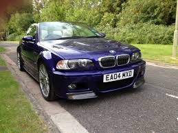 Sport Series bmw m3 2004 : 2004 BMW E46 M3 Individual Convertible with factory fitted CSL ...