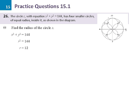 circle solutions practice questions