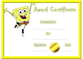 Kids Award Certificate Funny Appreciation Certificate Award Awards For Kids Template Resume