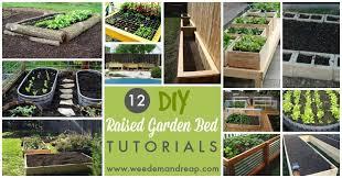 do it yourself raised garden beds. 12 DIY Raised Garden Bed Tutorials Do It Yourself Beds