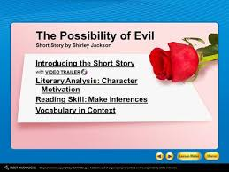 two kinds by amy tan introducing the story ppt the possibility of evil