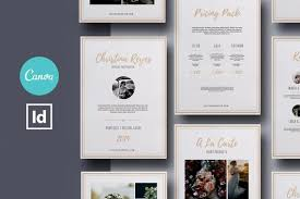 Photography Pricing Template Canva Template Indesign Template Wedding Photography Pricing Template Photography Pricing Guide