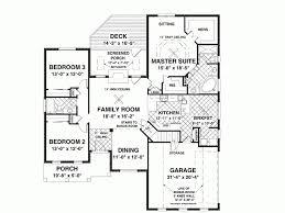 3 Bedroom Open Floor House Plans Ideas Interesting Decoration