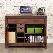 baumhaus hidden home office 2. baumhaus mayan walnut hidden home office desk cwc06a 2 i