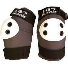 Paintball X Large Knee And Elbow Skateboard Pads 187 Black