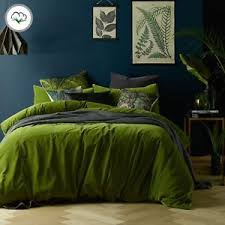 green duvet cover queen. Beautiful Cover Image Is Loading MossyRoadCottonVelvetQuiltCoverSetOR Throughout Green Duvet Cover Queen O