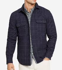 Quilted Flannel Shirt Jacket - Mensfash & Men's Fashion Adamdwight.com