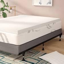 Foam mattress topper Cover Wayfair Alwyn Home 3