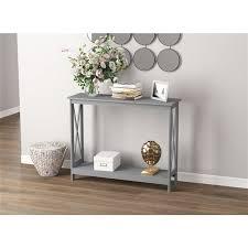 saf co console table 1 shelf