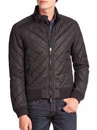 Polo Ralph Lauren Men's Quilted Moto Bomber Jacket Coat Black S | eBay & Picture 1 of 9 ... Adamdwight.com