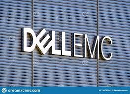 Dell Silicon Valley Design Center Dell Emc Logo On The Hq Building Editorial Photography