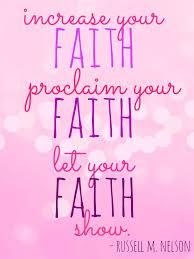 Lds Quotes On Faith Unique Lds Quotes On Faith Magnificent Faith Not Fear Motivational And