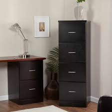 office desk with filing cabinet. Classic Black Wooden Vertical Decorative Filing Cabinets Natural Floor Simple Wall Photo Flower Pots Accent Office Desk With Cabinet G