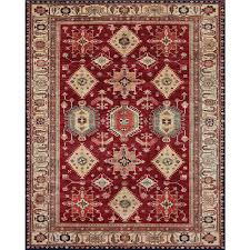 ruggable washable noor ruby 8 ft x 10 ft stain resistant area rug