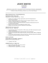 Cover Letter Basic Resumes Templates Free Basic Resume Templates