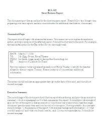 Short Business Report Sample Downloads Full Medium Short Report Format Template Formal