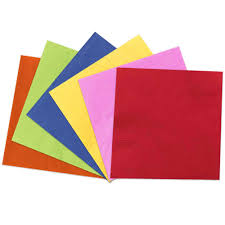 Large Colored Paper Napkinsl
