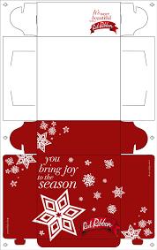 Red Ribbon Design Red Ribbon Christmas Box Design 2007 On Behance