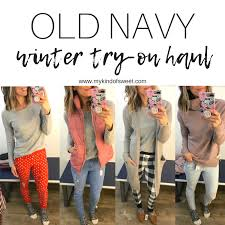 old navy winter try on haul