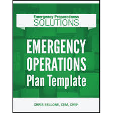 Operation Plan Outline Emergency Operations Plan Template