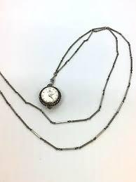 vintage bucherer 17 jewels ball pendant