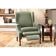 furniture fancy slipcovers for wingback recliner chairs 3 wing chair glorema slipcovers for wingback recliner chairs