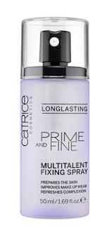 CATRICE Фиксирующий спрей для макияжа Prime And Fine ...