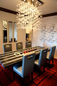 contemporary chandeliers for dining room pleasing decoration ideas bule light chandelier dining room contemporary with bule