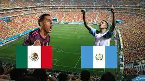 Copa Oro: México enfrenta a Guatemala ...