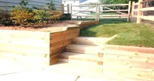 retaining wall designs en s wood design ideas timber sleepers stone
