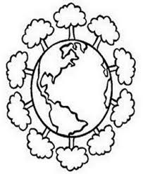 Save The Earth Day Kids Coloring Pages Free Colouring Pictures To