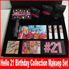 new 21st makeup set birthday collection o 21 make up kit sipping pretty eyeshadow birthday lip trio lip gloss kit lipstick highlighter makeup palettes