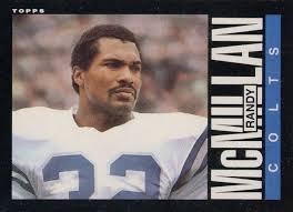 Randy McMillan Football Cards