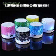 Loa Bluetooth Không Dây Mayhow Tích Hợp Đèn Led