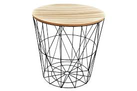 full size of round wood top side table with metal legs natural decorative coffee stool wooden