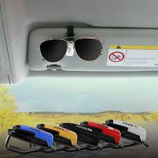 Eyeglasses Clip Portable Ticket <b>Card Clamp Car Sun</b> Visor ...