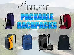 Light Daypack Best Lightweight Packable Backpacks Snarky Nomad