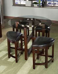 Standard Kitchen Table Sizes Fresh Idea To Design Your Adelson Chocolate 5 Pc Counter Height