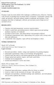 ... Litigation assistant Sample Resume Awesome Professional Legal assistant  Templates to Showcase Your Talent ...