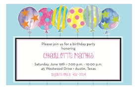 Balloon Birthday Invitations Crazy Pastel Colored Balloons Birthday Invitations Polka Dot