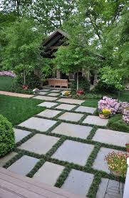 garden pavers pavers backyard