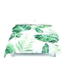tropical leaf duvet cover set king textiles green banana leaves nz essentials grey reversible e